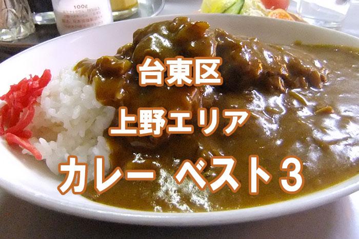 【朗報!!】美味しく食べて健康になれる!! 上野周辺 カレーベスト3!!