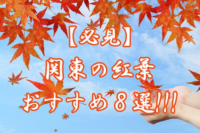 関東の紅葉を観よう!穴場は?2018年のおすすめスポット8選!