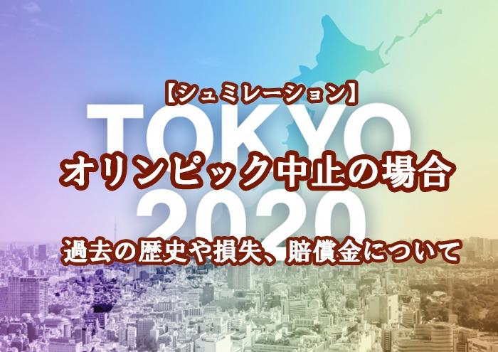中止の歴史 オリンピック 東京五輪の開催中止を求める署名はこちら