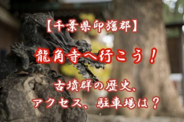 【房総】龍角寺へ行こう!古墳群の歴史やアクセス、駐車場